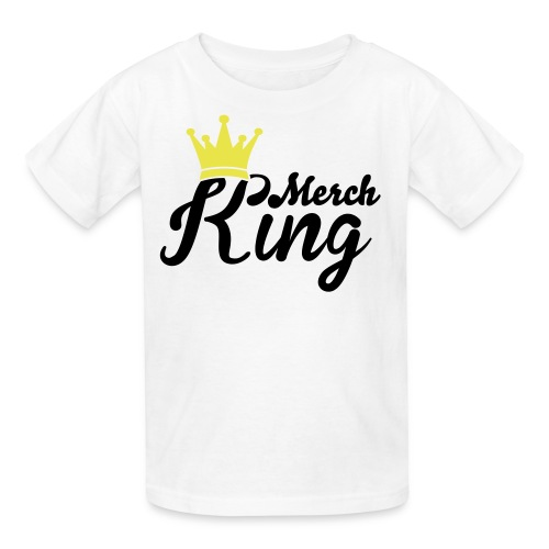 merch king t-shirt - Kids' T-Shirt