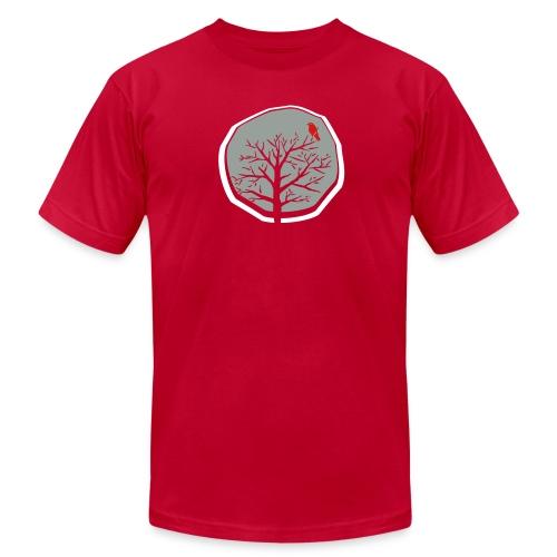 Winter Tree Men's Tee - Men's Fine Jersey T-Shirt