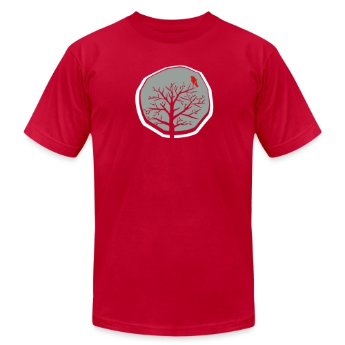 Winter Tree Men's Tee - Men's  Jersey T-Shirt