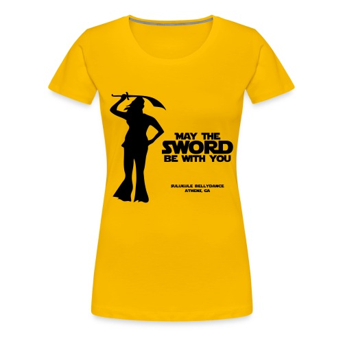 Women's Sword Shirt - Women's Premium T-Shirt