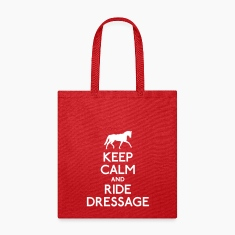 Keep Calm and Ride Dressage Bags & backpacks