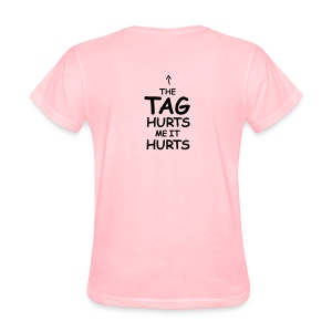 Conservative Tag Hurts K with arrow - Women's T-Shirt