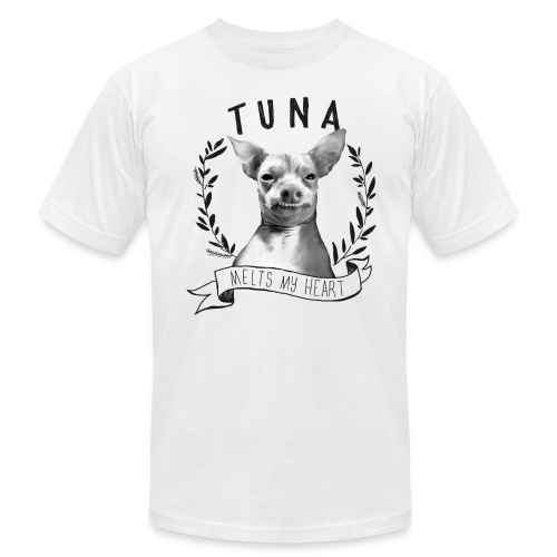 Tunameltsmyheart Crest - Men's Fine Jersey T-Shirt