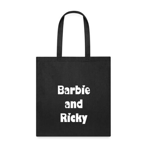 Barbie and Ricky Tote Bag - Tote Bag