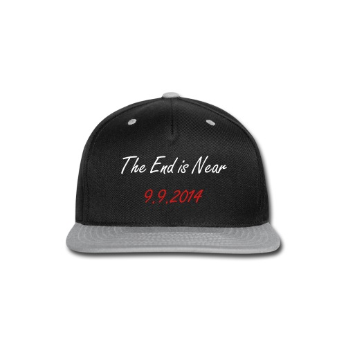 End is Near Hat - Snap-back Baseball Cap