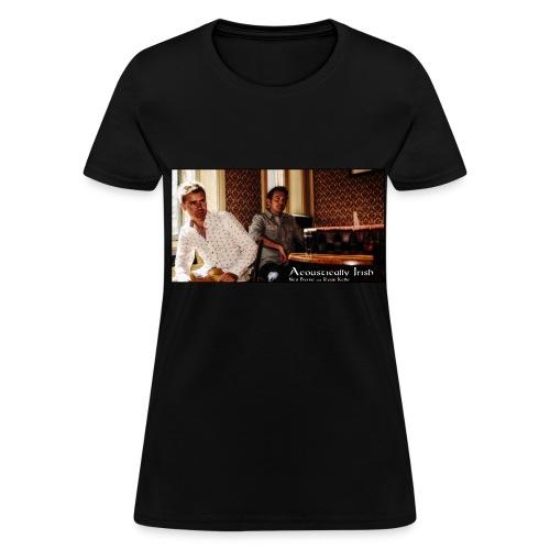 Womens Bar Image T-Shirt - Women's T-Shirt