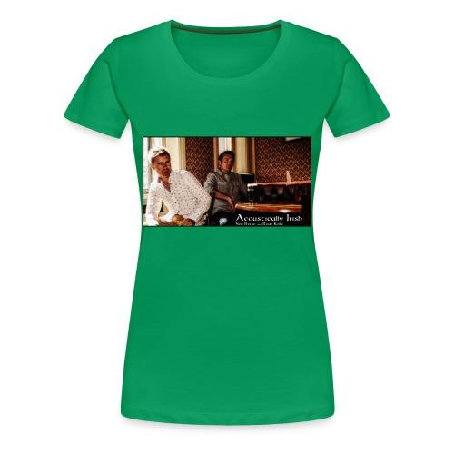 Womens Bar Image Premium T-Shirt Up To 3XL - Women's Premium T-Shirt