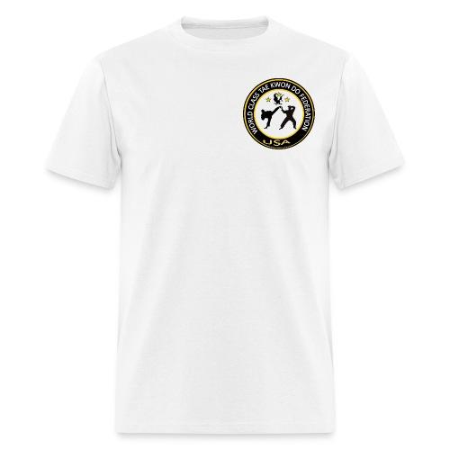 Men's T-Shirt - Logo on Front-Federation name on back