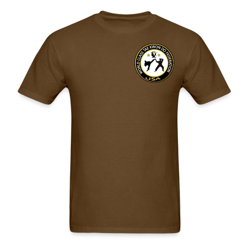 Men's T-Shirt - Logo on front-Federation name on back