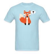T-Shirts ~ Men's T-Shirt ~ What Does The Fox Say Tee