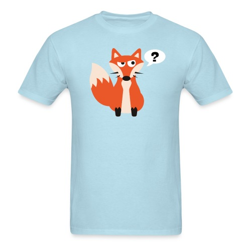 What Does The Fox Say Tee - Men's T-Shirt