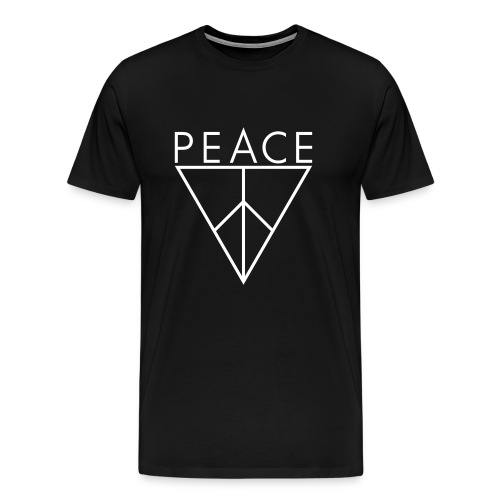 Pax Peace Triangle - Men's Premium T-Shirt