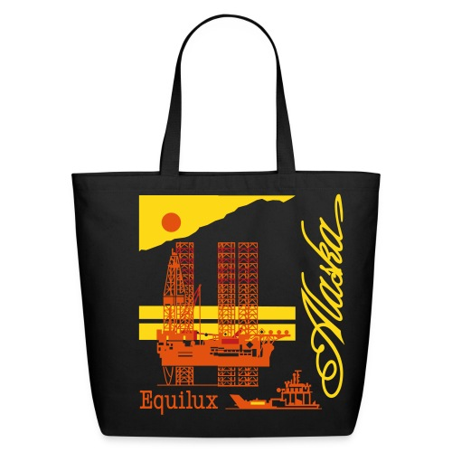 Alaska Oil and Gas Renaissance Series - Tote - Eco-Friendly Cotton Tote