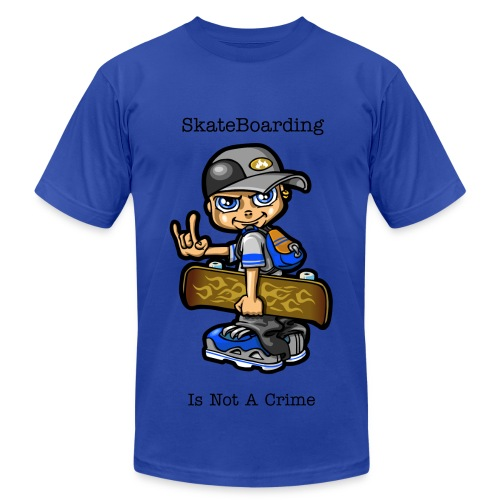 Skateboarding - Men's Fine Jersey T-Shirt