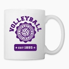 Volleyball my Game Bottles & Mugs