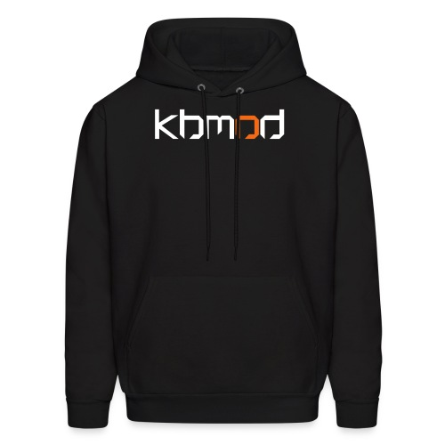 Men's Hoodie - Keyboard + Mouse or Die,KBMOD.COM,KBMOD