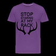 T-Shirts ~ Men's Premium T-Shirt ~ Unisex Stop Staring (PREMIUM)