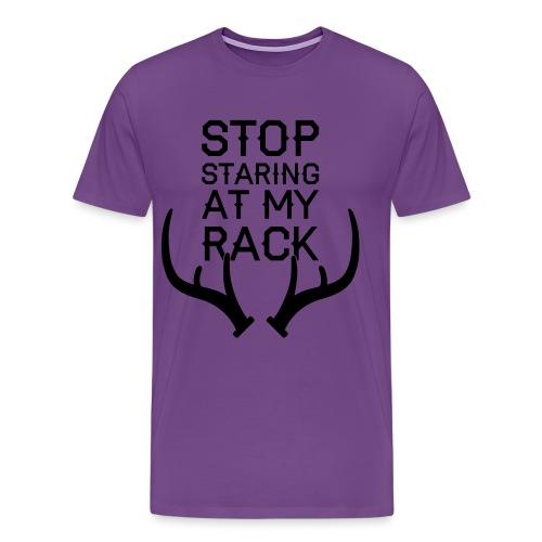 Unisex Stop Staring (PREMIUM) - Men's Premium T-Shirt