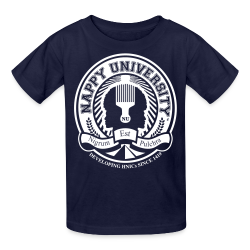 Nappy University w/Crest Kids' T-Shirt - Kids' T-Shirt