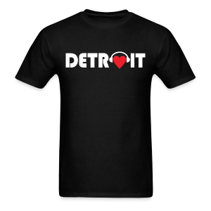 DETROIT MUSIC - Men's T-Shirt