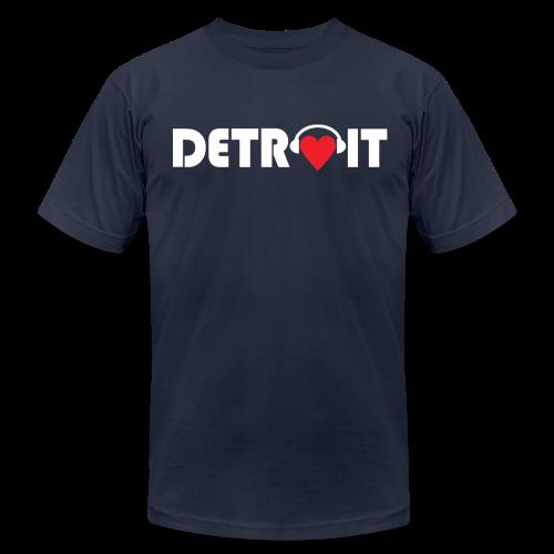 DETROIT MUSIC - Men's  Jersey T-Shirt