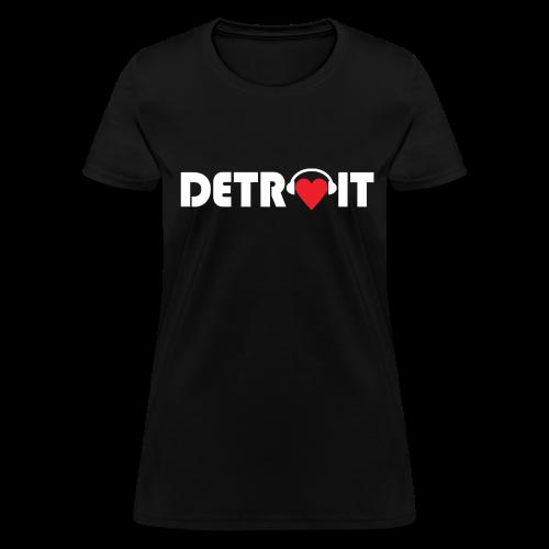 DETROIT MUSIC - Women's T-Shirt