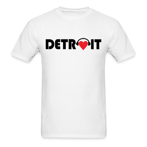 DETROIT MUSIC - Men's T-Shirt