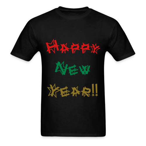 Happy New Year - Men's T-Shirt