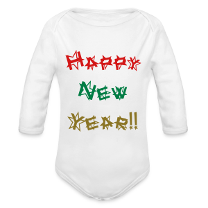 Happy New Year - Long Sleeve Baby Bodysuit
