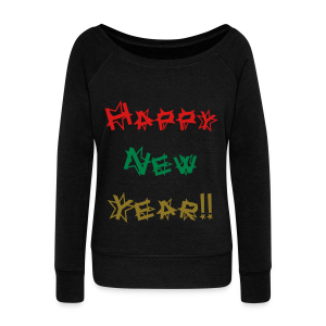 Happy New Year - Women's Wideneck Sweatshirt