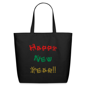 Happy New Year - Eco-Friendly Cotton Tote