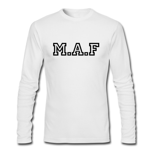 FOR THE RICHES - Men's Long Sleeve T-Shirt by Next Level