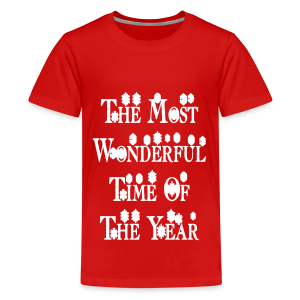The most wonderful time of the year - Kids' Premium T-Shirt