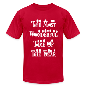 The most wonderful time of the year - Men's T-Shirt by American Apparel