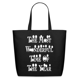 The most wonderful time of the year - Eco-Friendly Cotton Tote
