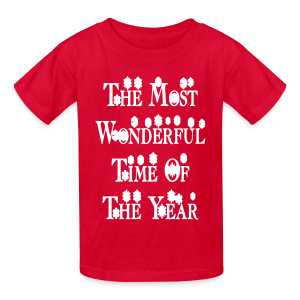 The most wonderful time of the year - Kids' T-Shirt