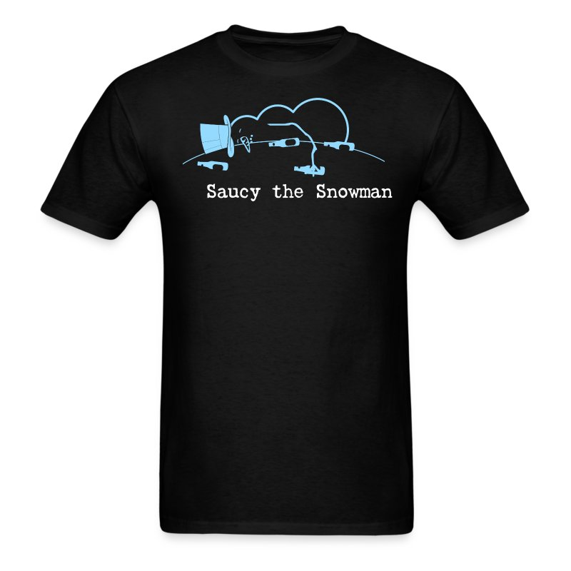 Saucy the Snowman Men's T - Men's T-Shirt