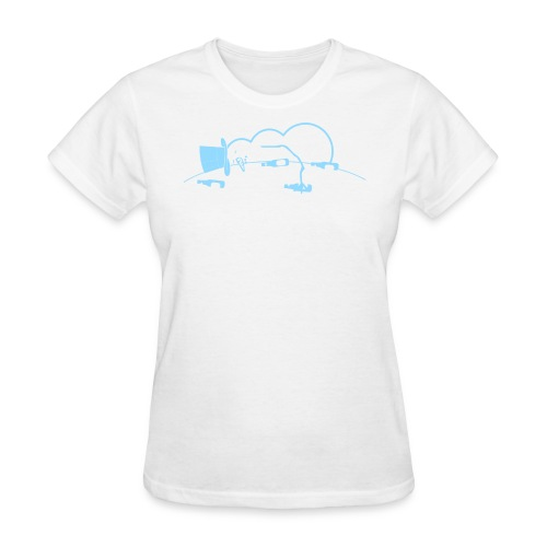 Saucy the Snowman Women's T - Women's T-Shirt