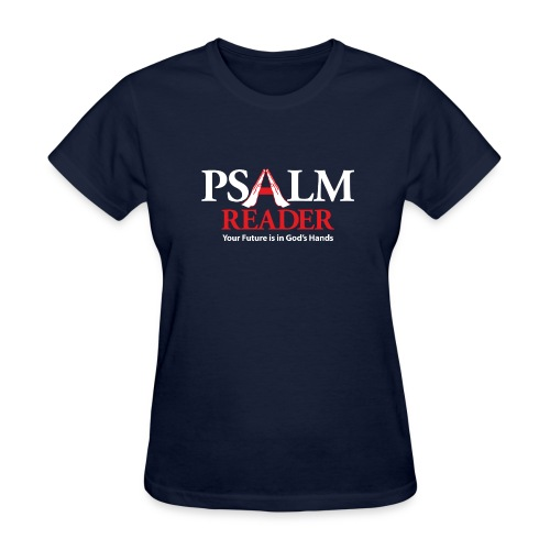 Navy Psalm Reader Shirt - Women's T-Shirt
