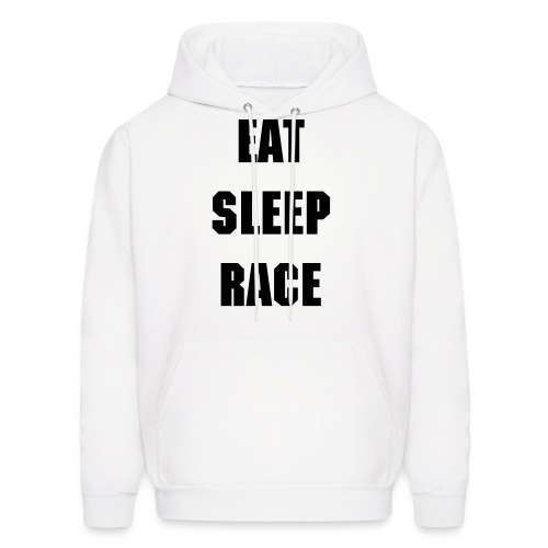 EAT SLEEP RACE REPEAT Mens Hoodie - Men's Hoodie