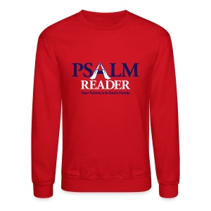 Psalm Reader Sweat Shirt - Crewneck Sweatshirt