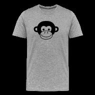 T-Shirts ~ Men's Premium T-Shirt ~ Monkey Face