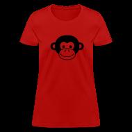 T-Shirts ~ Women's T-Shirt ~ Monkey Face