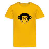 Kids' Shirts ~ Kids' Premium T-Shirt ~ Monkey Face
