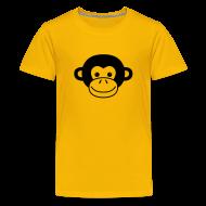 Kids' Shirts ~ Kids' Premium T-Shirt ~ Monkey Face