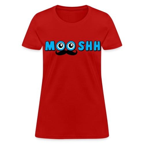 MooshTache shirt for Women - Women's T-Shirt