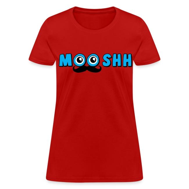 MooshTache shirt for Women