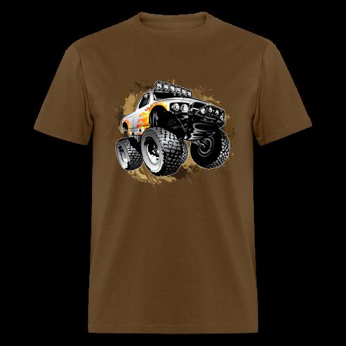 Monster Mudding Truck - Men's T-Shirt