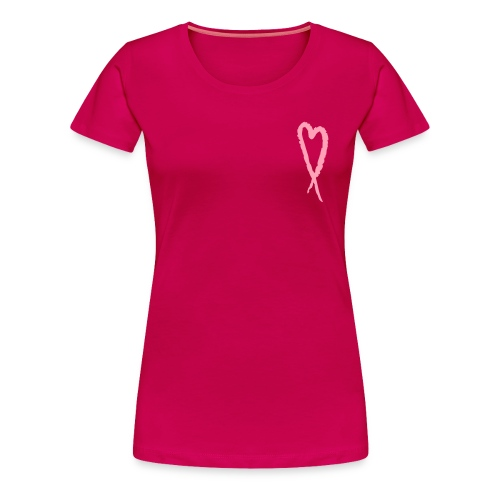 Our Heart is With You - Women's Premium T-Shirt