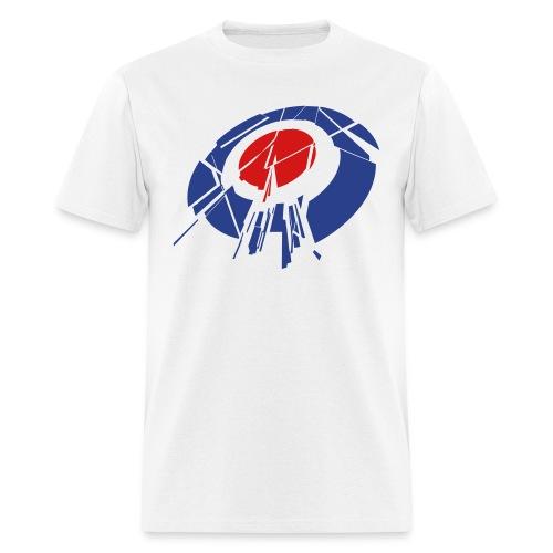 Shattered Target T-shirt - Men's T-Shirt